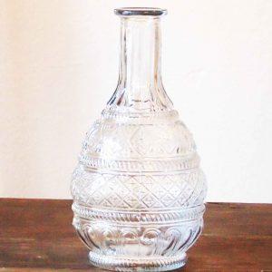 Vase Bonny, Glas, klar, farblos